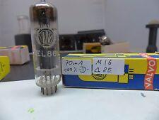 1x EL86 6CW5 VALVO D-Getter Geprüft  NOS/NIB Testet Röhre Tube Valvola #1