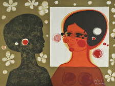 Signierte Expressionismus mit Lithographie-Technik