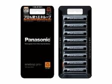 Panasonic Highlevel Batteries Eneloop Pro Recharge Batteries AA 2500 mAh x 8 F/S