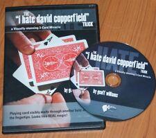 I Hate David Copperfield Dvd (G. Williams) - super visual -Tmgs Dvd blowout!