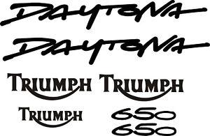 Triumph daytona 650 decal set