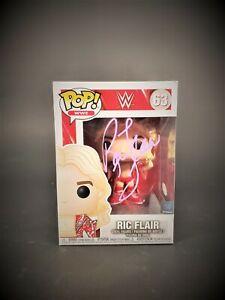 Ric Flair Autograph Signed Funko POP - WWF WWE WCW (JSA COA)