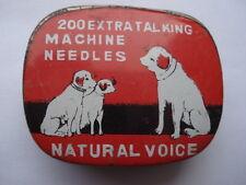 C1950S VINTAGE 200 EXTRA TALKING MACHINE NATURAL VOICE NEEDLES TIN