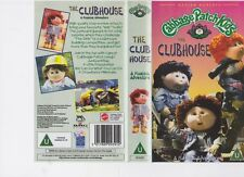 CABBAGE PATCH KIDS THE CLUBHOUSE   VHS PAL VIDEO~ A RARE FIND