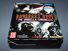 RESIDENT EVIL UMBRELLA CHRONICLES BIG BOX - Nintendo WII - PAL MINT GAME SEALED