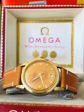 Vintage 1952 Omega First Calendar model men's watch, Orig dial, Ref 2527