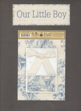 This & That Scrapbook Die Cut Set From My Minds Eye ~ Our Little Boy