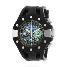 Invicta S1 Rally 28576 Men's Oyster Dial Chronograph Black Silicone Band Watch
