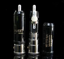 Genuine WBT 0152 0152AG silver RCA plug connector *2pcs