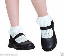 Calcetines de niña de 2 a 16 años de encaje
