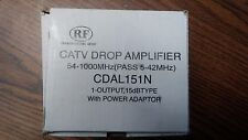RF CDAL151N CATV DROP AMPLIFIER ADAPTER ONLY!!!!!!