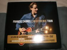 francis cabrel l'in extremis tour 2 cd+dvd  neuf sous blister