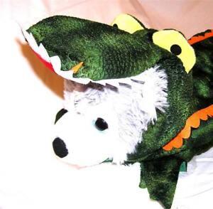 Animal Welfare League Benefit Costume Parade Halloween Dog SIZE XL ALLIGATOR