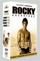 Rocky Anthology - 5 Disc Box Set - Burt Young, Burgess Meredith New Region 2 DVD