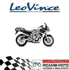 Paire Terminaux LeoVince LV One Evo Inox Yamaha 600 FZ6 Fazer 2005 Approuvé