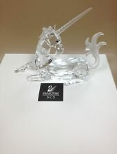 Swarovski 1996 SCS Fabulous Creatures Unicorn MIB w/Certificate Signed by Author