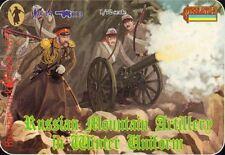 STRELETS 1/72 Russo Artiglieria di montagna in inverno uniforme GUERRA RUSSO-TURCA 113