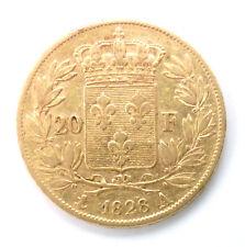 20 Francs Or CHARLES X - 1828 A PARIS - 5 FEUILLES