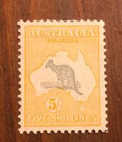 British Australia Stamp # 126 Mint OG H $350