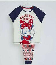Disney Original Mickey Mouse  Fairisle Christmas Pyjamas Women's ssize 20-22.