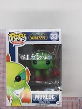 Funko Pop Murloc Green #33 World Of WarCraft NOT MINT BOX O01