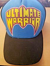 WWE Wrestling Ultimate Warrior Adjustable Snapback Trucker Hat - BRAND NEW NWT