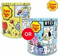 BT21 Chupa Chups Tin Case Chupa Chups bts in empty can