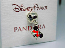 NEW PANDORA SILVER DISNEY PARKS MINNIE MOUSE EAR HAT CHARM DANGLE PENDANT 100%