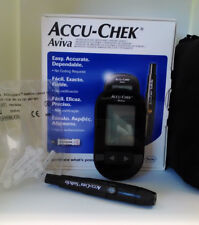 ACCU-CHEK AVIVA BLOOD GLUCOSE MONITORING SYSTEM MG/DL & 10 SOFTCLIX LANCETS