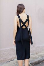 UNIF.M - UNIFORM-STUDIOS Cross Back Dress - NAVY - SOLD OUT - Size Small (8)