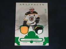 2017-18 17/18 Artifacts EMERALD PATCH #8 Patrice Bergeron Boston Bruins  / 65