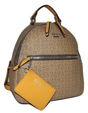 GUESS Backpack Monogram Jacquard Signature Mocha Multi Style Sv510730