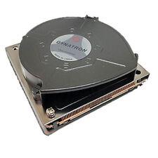 Dynatron B9 Intel Xeon FCLGA3647 Square ILM Socket 1U Active CPU Cooler Copper
