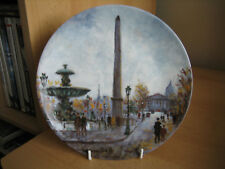 LIMOGES COLLECTORS PLATE - LA PLACE DE LA CONCORDE