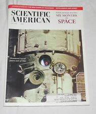 Scientific American May 1998: NASA Astronauht describes Six Months in Space