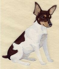 Toy Fox Terrier, Hand Towel, Embroidered, Custom, Personalized, Dog