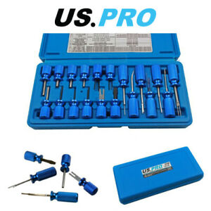 US PRO Tools 19pc Universal Automotive Terminal Release Tool Kit 6786