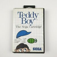 Teddy Boy | Ozisoft | Sega Master System | PAL | With Manual
