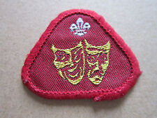 Entertainer Proficiency Woven Cloth Patch Badge Boy Scouts Scouting