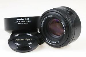 MAMIYA 645 AF 80mm f/2,8 - SNr: TE1788