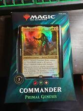 Magic the Gathering Commander 2019 Primal Genesis new in box