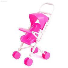 A1D6 Pink Doll Trolley Accessories Toy Plastic Doll Accessories Gifts Model