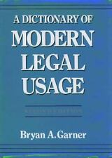 A Dictionary of Modern Legal Usage-ExLibrary