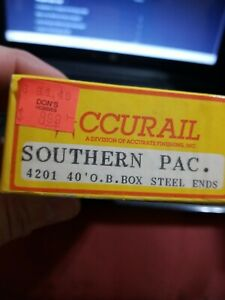 HO Scale Accurail 4201 SOUTHERN PACIFIC SP 40' SD OB Wood Box Car #19022