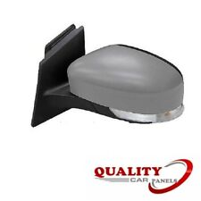 DOOR WING MIRROR HEATED ELECTRIC PRIMED INDICATOR LEFT FORD FOCUS 2011-2014 NEW