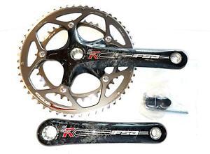 FSA Carbon SL-K  Road Bike Crankset 53/39 170mm  9/10 S ISIS New Old Stock