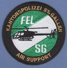 KANTONSPOLIZEI ST. GALLEN SWITZERLAND POLICE AIR SUPPORT HELICOPTER PATCH