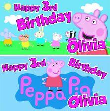 George Pig Oink PEPPA PIG CARTOON GROS Grain Nastro Festa Torta Sacchetti Confezione Regalo 1 M