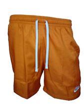 Nike pantaloncini da uomo shorts colore arancio pantalone corto sportivo tg L