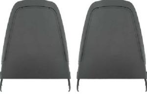 Mopar 70 71 E-Body Cuda Challenger Road Runner GTX Charger Black Seat Backs NEW